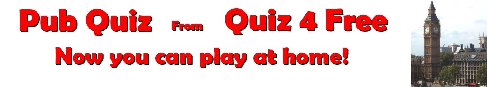Pub Quiz from Quiz4FREE